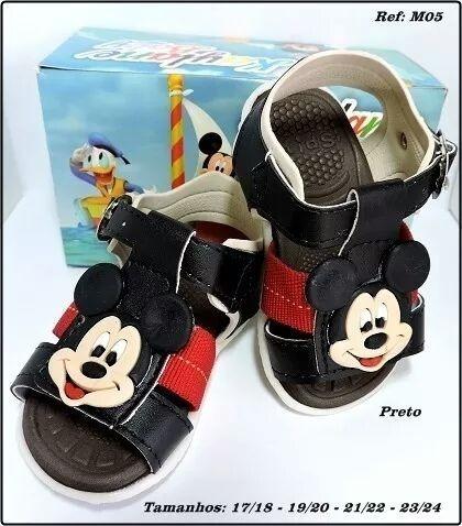 Sandália Infantil Disney Mickey 1 Par