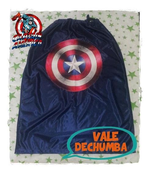 Capas Superheroes Super Promo X 10 Unidades