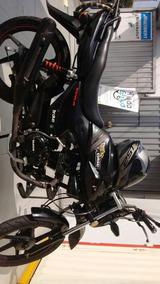 Moto Wanxin 125cc Negra, Pistera