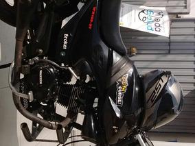 Moto Wanxin 150cc Negra, Pistera Lineal