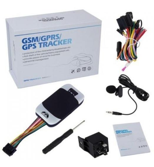 Rastreador Veicular Tk-303g Ou Tk-311c + Plataforma De Monitoramento E Rastreamento + Chip Com Créditos Por 1 Ano