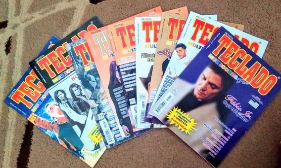 Lote Revista Teclado Multicores Plus - 9 Números - Ed. Dehon