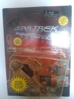 Star Trek Innerspace Play Ser Mini Figuras Miniatura Vintage