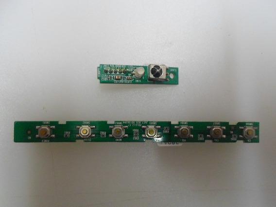 Teclado Sensor Philco Tv Ph40u16 Dsg Led