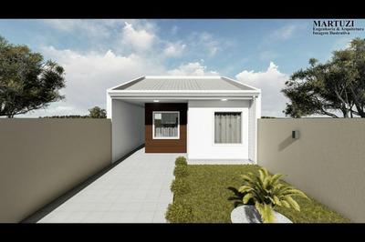 Casa Para Venda Em Fazenda Rio Grande, Nações, 3 Dormitórios - 900725