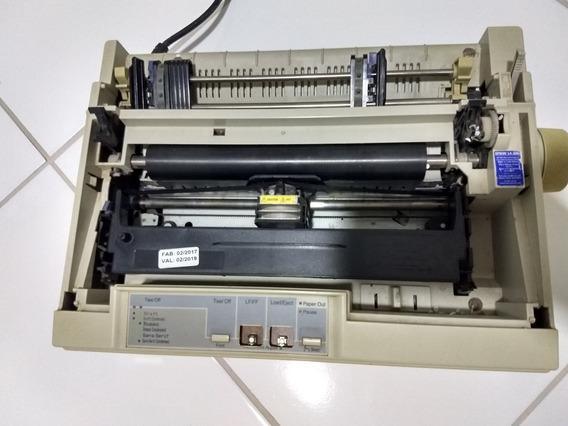 Impressora Epson Lx-300 Branca 120v Defeito Retirada De Peça