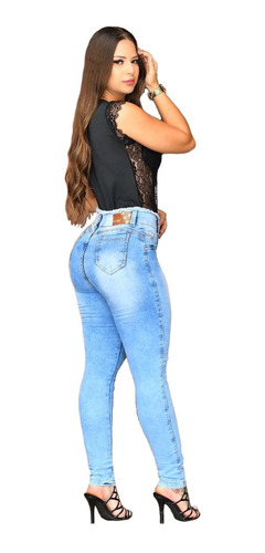 Imagem 1 de 5 de Calça Skinny Jeans Clara Cs004 By Bellatotti