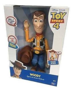 Muñeco Woody Toy Story Figura Accion Que Habla 15 Frases