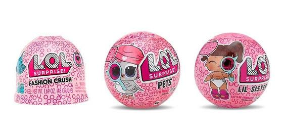 Muñeca Lol Surprise Incluye 1 Crush, 1 Lilsister Y 1 Mascota