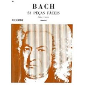 Bach - 23 Peças Fáceis Para Piano(mugellini)