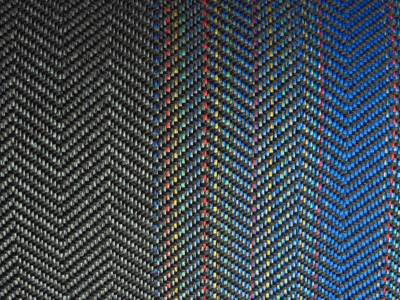 Tecido Recaro Gol Gti Banco Volkswagen Laguna Azul - 1 Metro