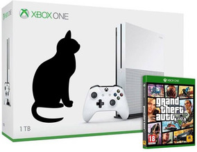 Xbox One S 1 Tera Console Completo + Gta 5 + Brinde Xone