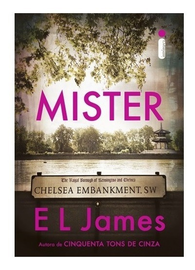 Livro Mister - E L James (autora De 50 Tons De Cinza )