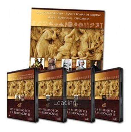 Coleção Filósofos E A Educação Ii - 4 Dvd