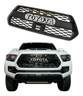 Parrilla Frontal Toyota Tacoma 2020 Tipo Trd Con Led