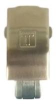 Fecho Tissot Prc200 Metal Aço T17 Pronta Entrega