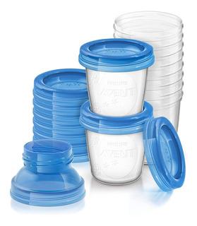 10 Vasos Avent Almacenar Leche Materna Vasos Lactancia
