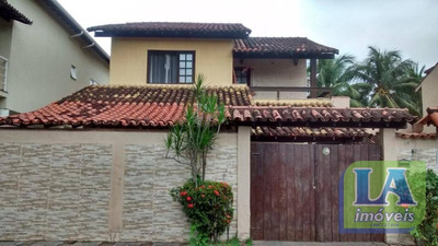 R$ 600.000,00 Casa Condomínio, 3 Quartos Suíte Piscina Mobiliada À Venda, Itaipu, Niterói. - Ca1070
