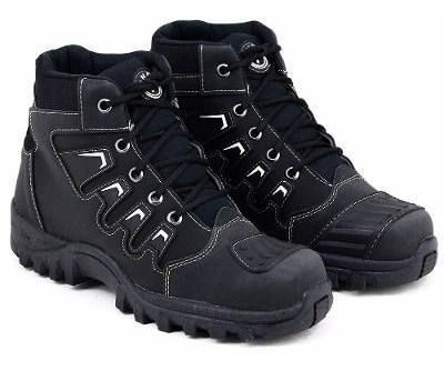 Tenis Bota Adventure Masc - Couro Alternativo