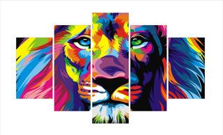 Cuadros Decorativos De Tigres, Leones Para Sala, Habitación