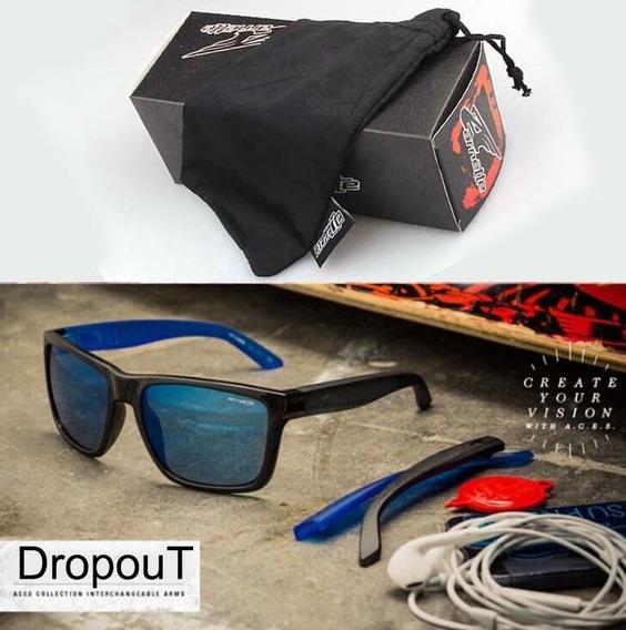 Óculos De Sol Dropout Várias Cores Troca Hastes