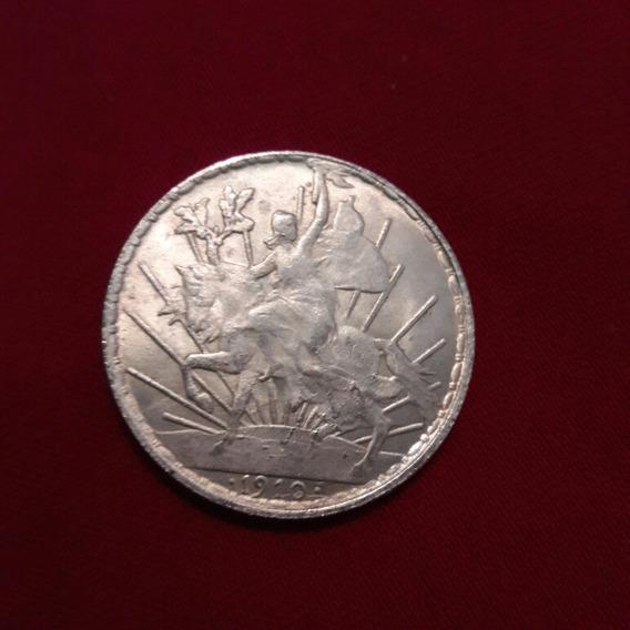 Moneda Un Peso 1910 Caballo Revolucion