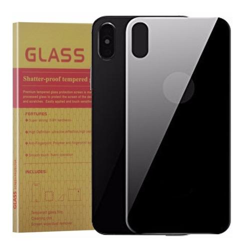 Protector Cristal Templado 3d Trasero iPhone X 10 Perfecto