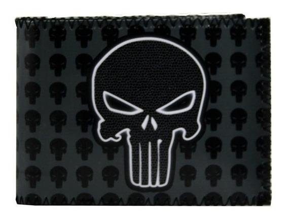 Billetera Tarjetero Diseño The Punisher 100% Original