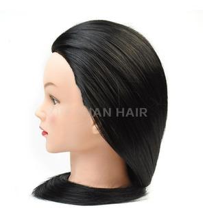 Maniquí Cabeza Cabezote Peinados 85% Natural