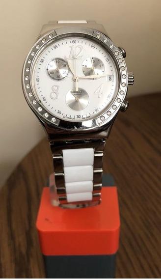 Relógio Feminino Swatch Dreamwhite - Ycs511gc