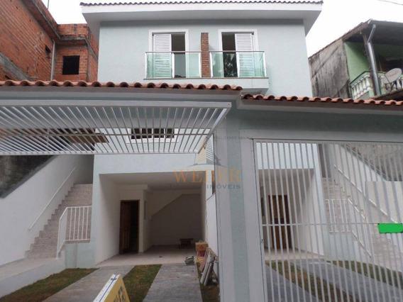 Sobrado Residencial À Venda, Jardim América, Taboão Da Serra. - So0132