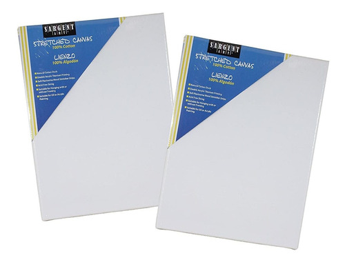 Value Pack  X  Inch Stretched Canvas Pack Of ,  Piece