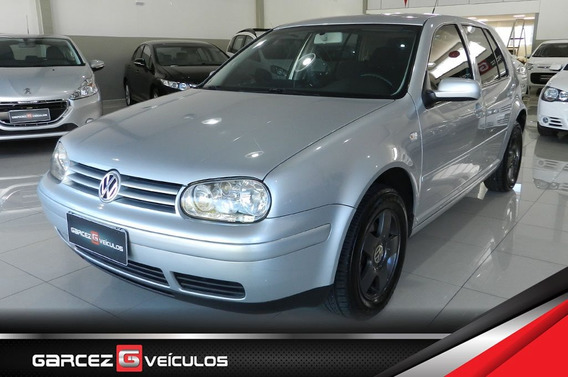 Vw Golf 2.0 Mi Completo Com Dvd Player E Airbag Top