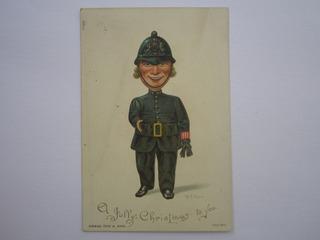 Cartão Natal Era Vitoriana Série Artística 2090