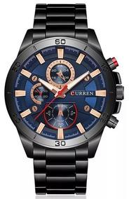 Relógio Curren Top Luxo 2019