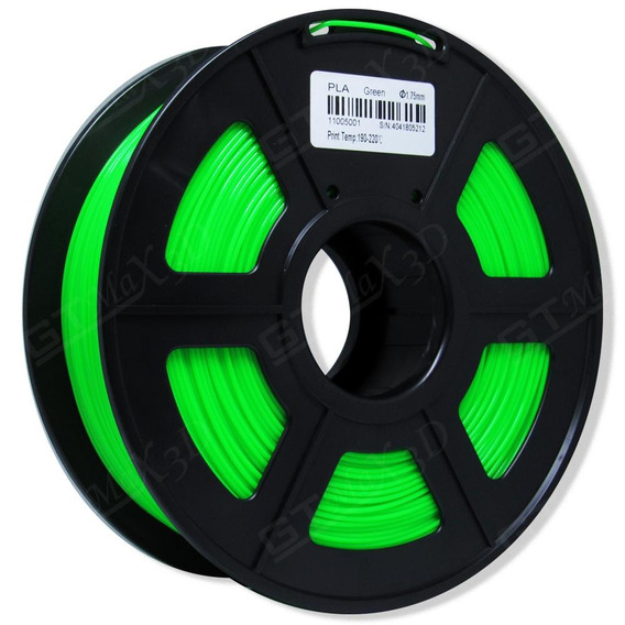 Filamento Pla Plus Verde - 1.75mm - 1kg
