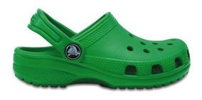 Zapato Crocs Infantil Classic K Verde