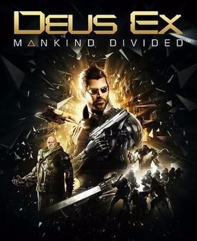 Deus Ex Mankind Divided (mídia Física) Pc