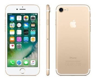 iPhone 7 128gb 4g Gold 100% Novo Original Lacrado