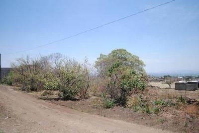 Excelente Lote De Terreno (19) En Loma Del Morillo,oaxtepec