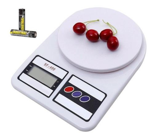 Balanza Digital De Cocina 1g A 10kg Electronica Precision
