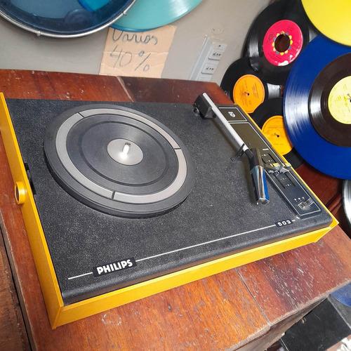 Vitrola Philips Antiga, Radiola Decorativa, Não Sai Som.