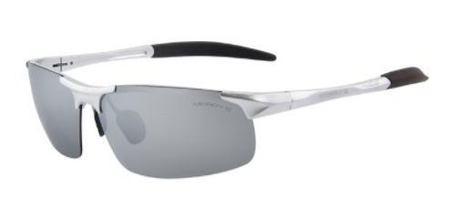 Oculos Sol Polarizado Armação Aluminio Ciclismo Pesca Moda