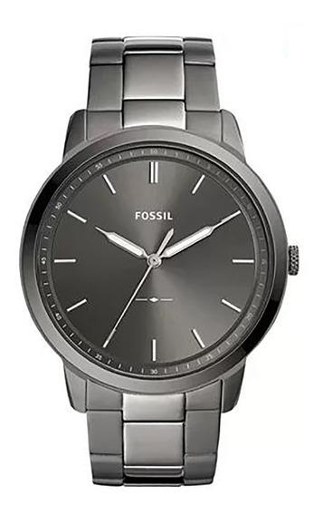 Relógio Fossil The Minimalist Masculino Fs5459/1cn