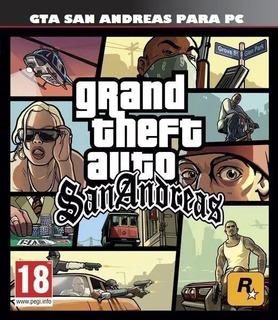 Grand Theft Auto: San Andreas Juego Original Digital Pc