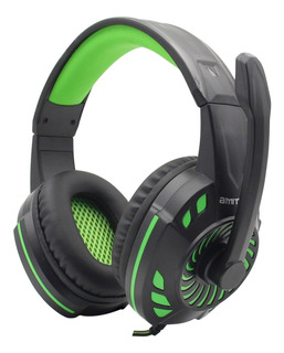 Auriculares gamer Amitosai MTS-FLOSS verde