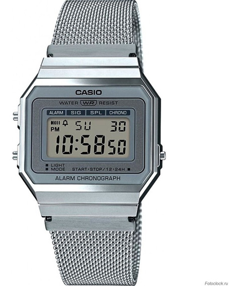 Nuevo Reloj Casio Vintage Digital A700wm-7avt Original