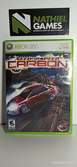 Need For Speed Carbon Original Xbox 360 Em Estado De Novo