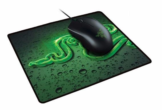 Mouse Razer Abyssus 2000 Dpi + Mousepad Goliathus Small Spee