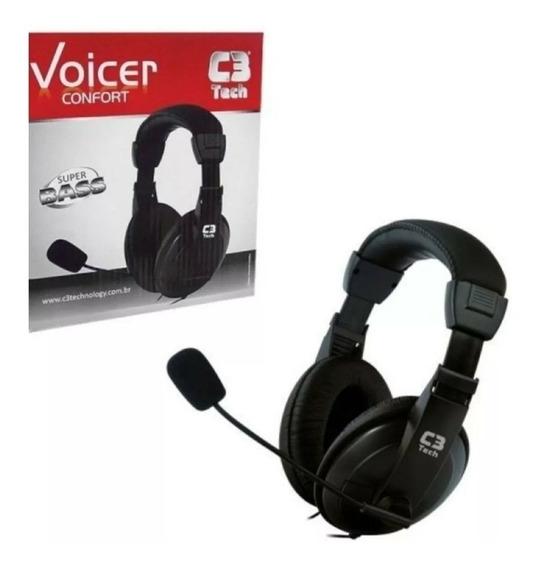 Headset Fone Gamer C3 Tech Voicer ( Últimos Reembalados!!! )